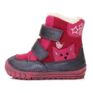 ddstep téli bakancs kislányoknak rókás rózsaszín