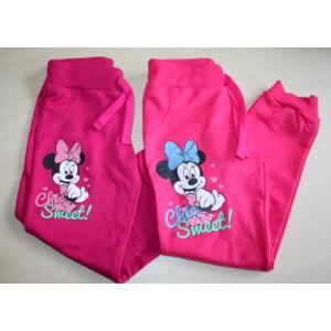 Plüss tréning nadrág - Minnie - rózsaszín - 134-es