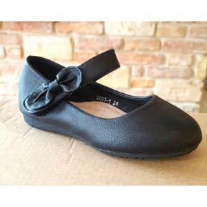 fekete alkalmi cipő lányoknak