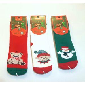 karácsonyi thermo bébi zokni