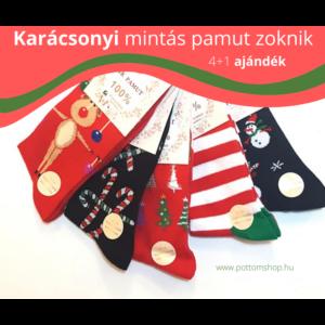 karácsonyi ajándék zoknik