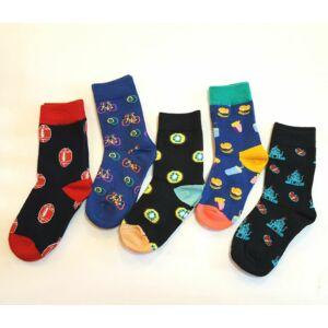 trendi vidám gyerek zoknik
