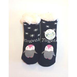 Pingvines meleg téli gyerek zokni