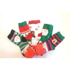 karácsonyi zokni gyerekeknek