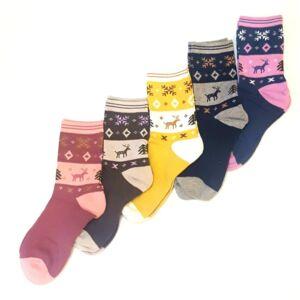 zoknivilag.hu női zoknik rénszarvas mintával