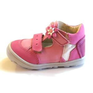 21-26 LINEA szandálcipő lányoknak - rózsaszín, csillagos