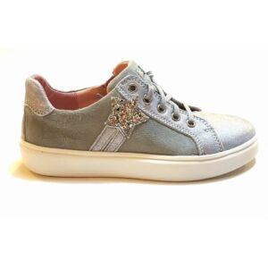 2fd947a900ba Ezüst fényű csillogó Richter Siesta cipő nagylányoknak