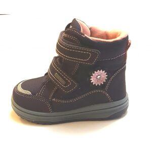 22-27 RICHTER vízálló téli bélelt cipő lányoknak virágos - barack béléssel