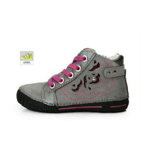 D.D.STEP gyerekcipő cipőfűzős 036-96A grey Budapest fe4705d126