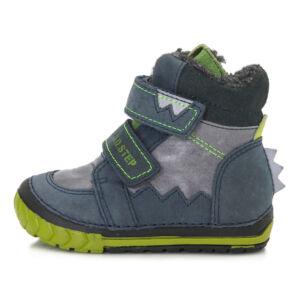 ddstep téli cipő fiúknak kék-zöld