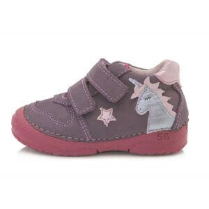ddstep cipő Unikornis mintával Violet