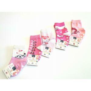 Lányka zoknicsomag 5 pár / csomag