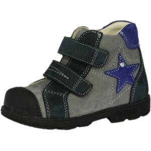 25-33 SZAMOS szupinált cipő fiúknak - kék-szürke csillagos