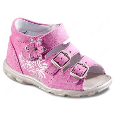 RICHTER baby shoes for kids first step Budapest - Candy/Silver
