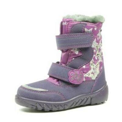 29-35 Richter téli, vízálló VILÁGÍTÓS bakancs lányoknak sympatex