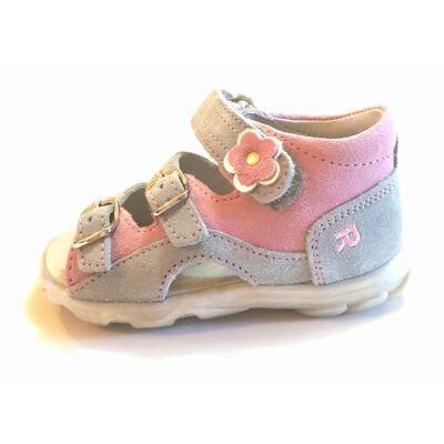 Richter szandál lányoknak szürke rózsaszín