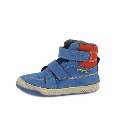 DDSTEP téli bundás gyerekcipő - Royal Blue - utolsó pár!