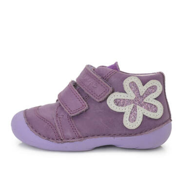 ddstep átmeneti gyerekcipő lányoknak lila virágos