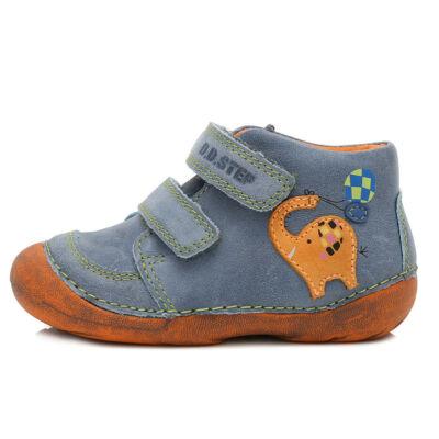 19-24 DDSTEP gyerekcipő fiúknak - kék és narancs  elefántos