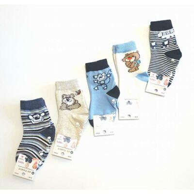 Fiú zoknicsomag 5 pár / csomag