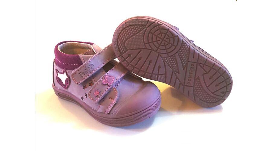 3a6dd50bd02 26-os PONTE20 by DDSTEP szupinált gyerekcipő - Lavender - rókás
