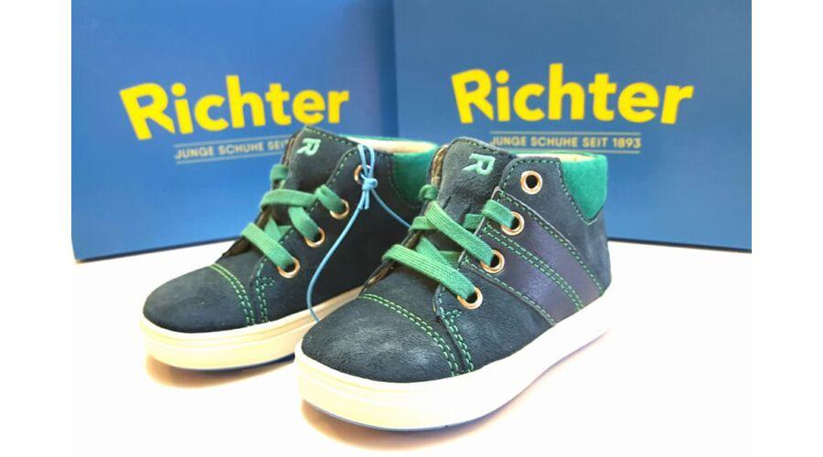 Siesta Richter gyerekcipő fiúknak cipőfűzős 20-26 méret 0355a2c08c