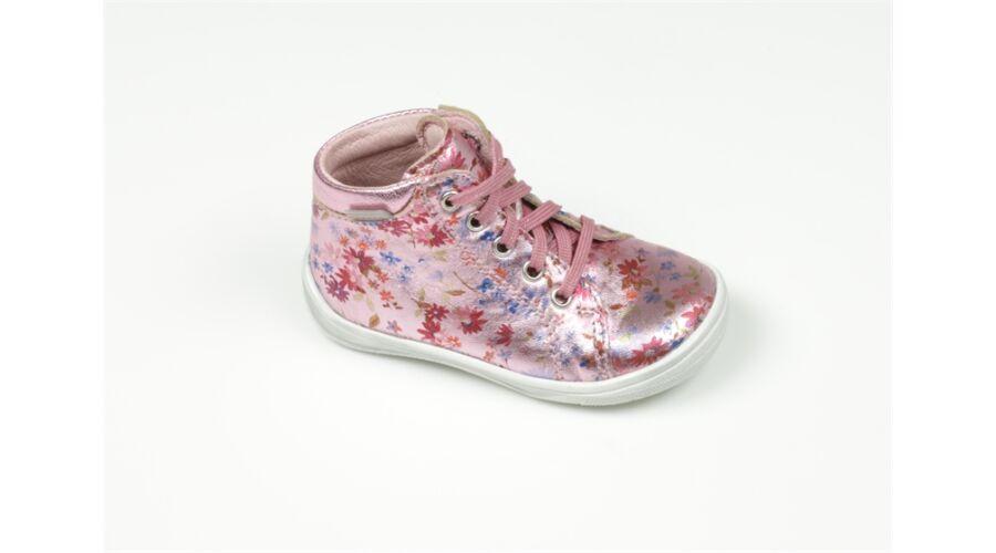 85d8bb291d31 20-24 RICHTER cipő lányoknak - metálfényes virágos